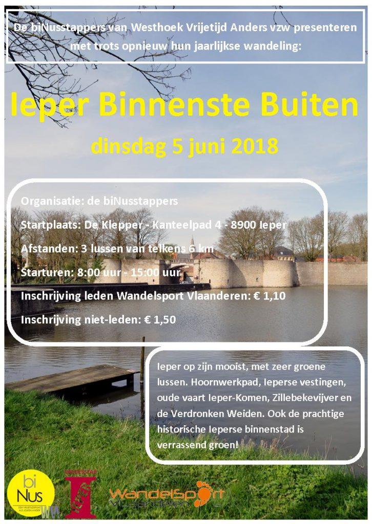 flyer Ieper Binnenste Buiten 2018
